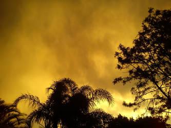 Weird sunset by davyboy90