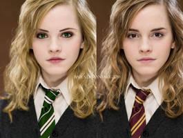Hermione Granger Slytherin by Baira