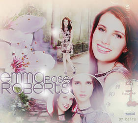 Emma Roberts by Baira