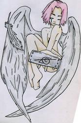 Sakura Angel... by Novtholwen