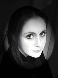 lady green eyes by spiritualmohawk