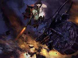 Goblin Rider by Mineworker