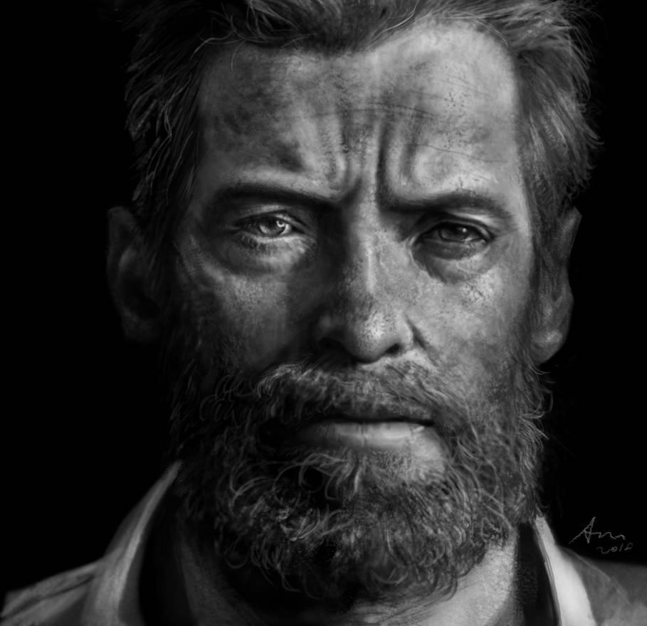 Logan(Hugh Jackman) by Mineworker