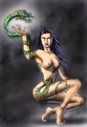 Dragon-Tattoo by Dinoforce