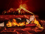 Queen of Fire by Dinoforce