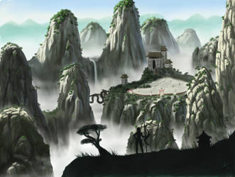 the hidden Temple by Dinoforce