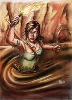 Lara Croft - Tomb Raider by Dinoforce