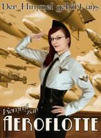 Steampunk Propaganda Aerofleet german by Dinoforce