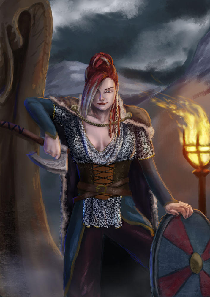 the Viking Queen by Dinoforce