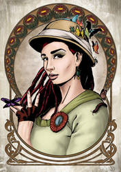 Nana - the Endomologist by Dinoforce