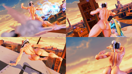 Chun-li Back Tweaks by gatoradepanda