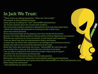 In Jark We Trust by neo-tek
