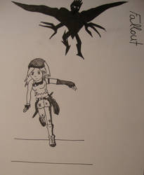 Run girl by Hakkyna