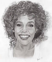 Whitney Houston by Gemini58