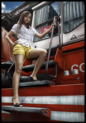 Train Girl by BilSign