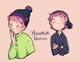 Damien by MilkyMichi