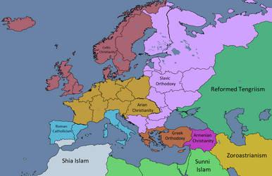 Post Rome - Religions by Maszio
