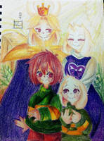 Retrato familiar by KyoMekA