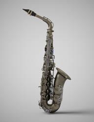 Alto Saxophone by Protozoon75