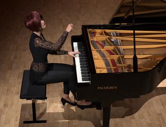 Piano Sonata by Protozoon75