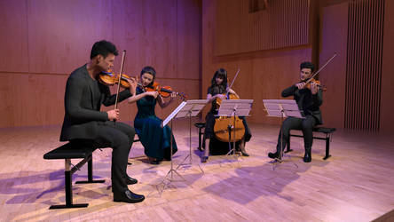 Daz String Quartet in Concert by Protozoon75