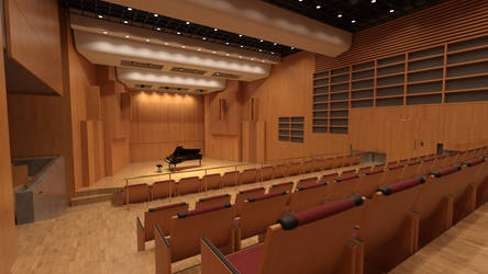 Recital Hall and Auditorium by Protozoon75