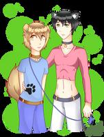 Inu-Chan y Neko-kun! by AmryMarques