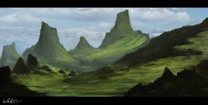 Fantasy Landscape IV by Concept-Cube