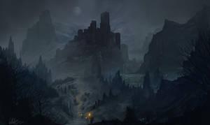 Fantasy Landscape V by Concept-Cube