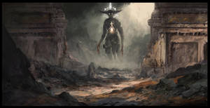 Threshold of the Gods by Concept-Cube