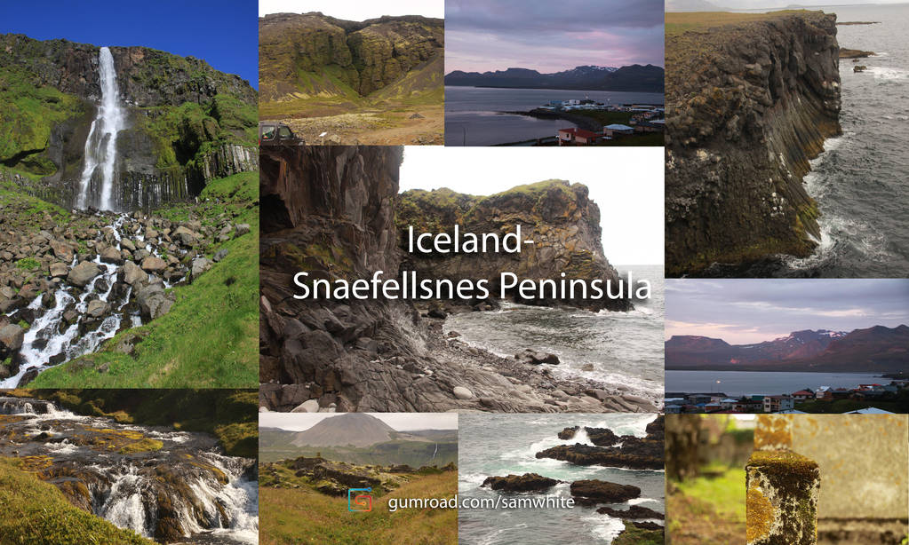 Iceland- Snaefellsnes Peninsula -Resource Pack by Concept-Cube