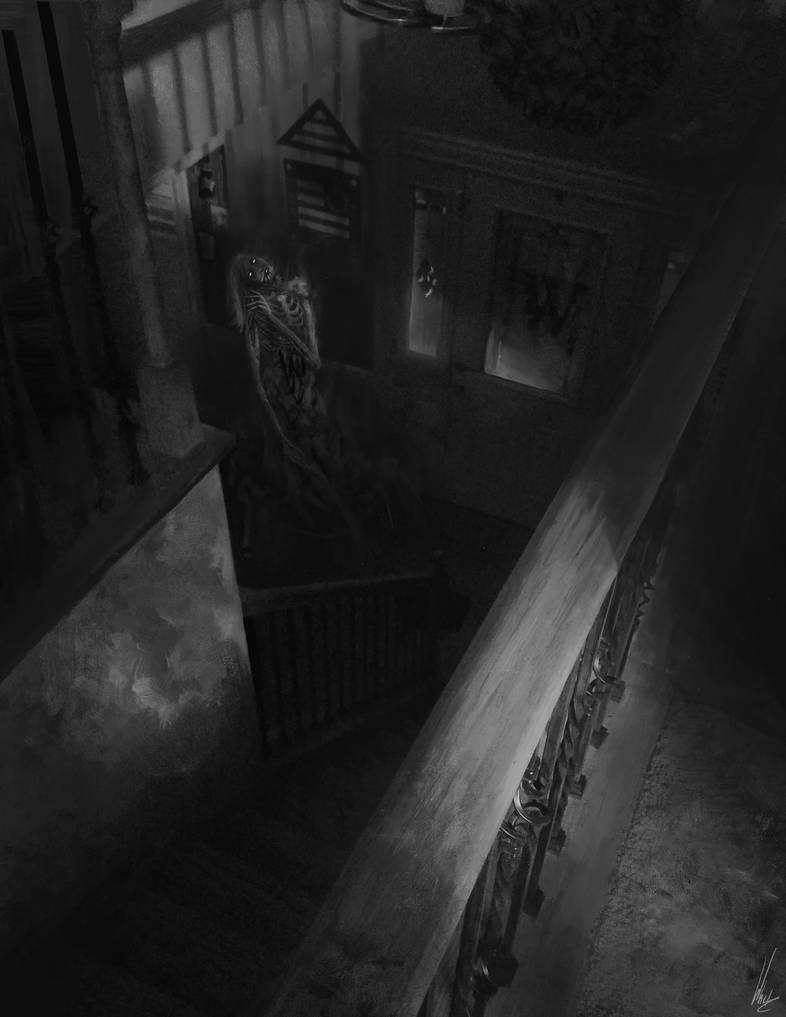 The Lady under the Stairs by Concept-Cube