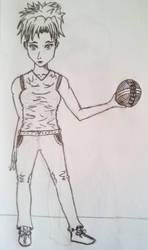 Dodgeball Girl by Dmfeldman