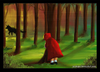 little red riding hood II by Zentagas
