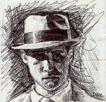 Detective Cole Phelps by DrawDrawRevolution