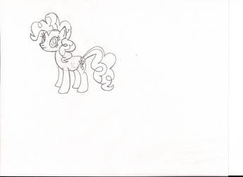 1st Attempt at Pinkie by GrizzlyJames