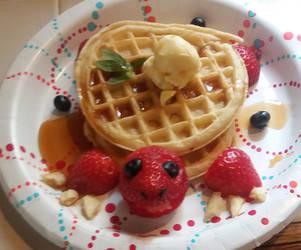 Strawberry Turtle by Riaulza