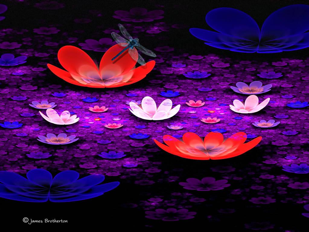 The Wonderful World Of Flowers by jim88bro