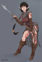 DnD Character by RoxyRex