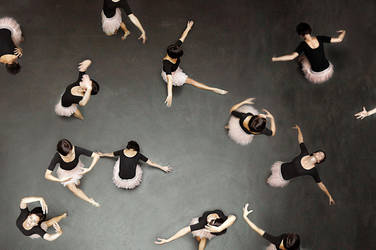 ballet from above II by LauraZalenga