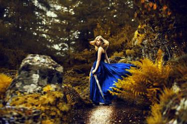 slender path by LauraZalenga