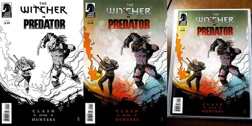 Witcher Vs Predator Process by RoBaL-v81