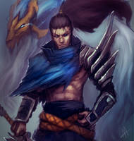 Yasuo the Unforgiven by Aths-Art