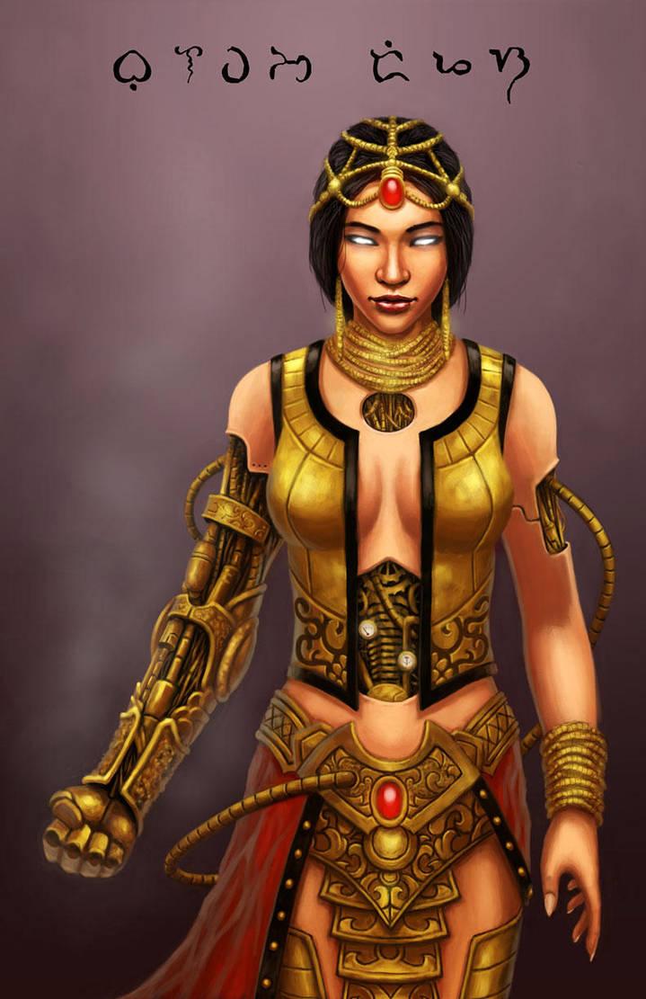 golden goddess by vnbenedicto