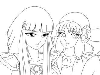 Hilda y Fler by TihanaPimentel