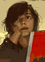 self portrait 2 by loish