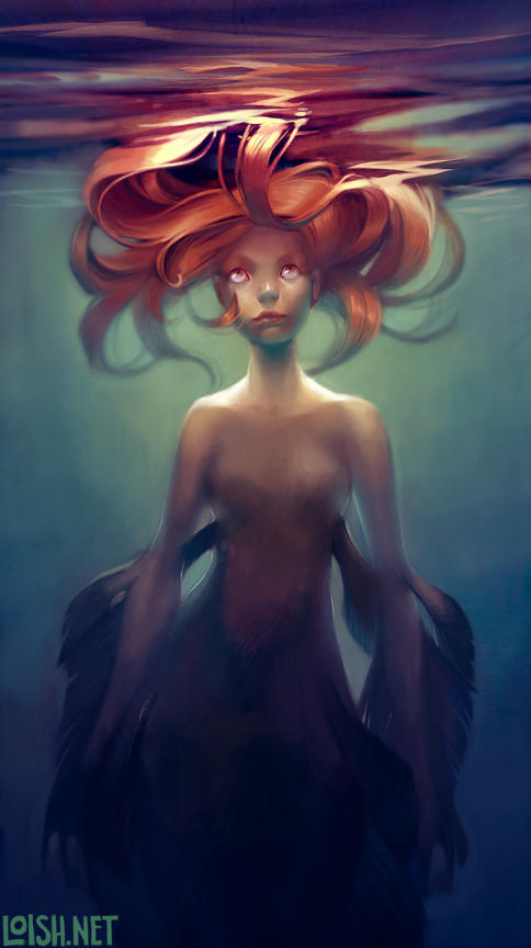 mermaid by loish