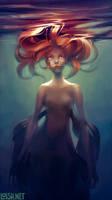 mermaid by loish