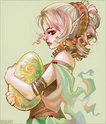 dragon's egg by loish