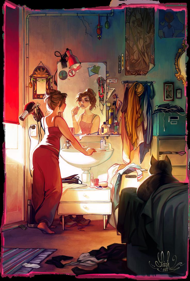 Morning by loish